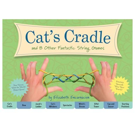 Cats Cradle & 8 Other String Games