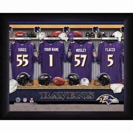Personalized MVP Locker Room Photos-National Football League