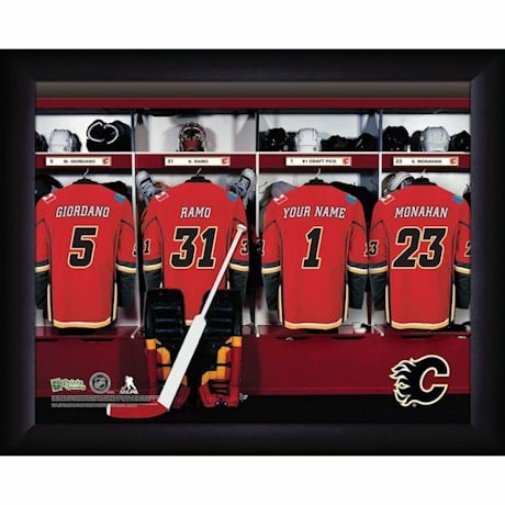 Personalized MVP Locker Room Photos-National Hockey League