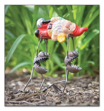Alien Gnome Bandits Garden Accent
