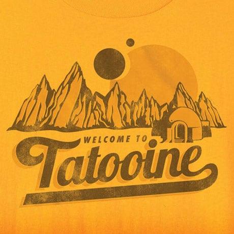 Star Wars Tourism T-Shirts- Tatooine