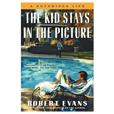Robert Evans - The Kid Stays In The Picture - Signed Autographed Book