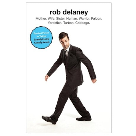 Mother Wife Sister Human Warrior By Rob Delaney - Signed Autographed Book