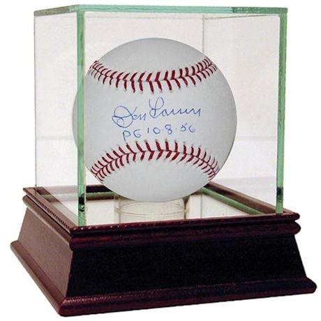 """Don Larsen MLB Baseball W/ """"Pg 10-8-56"""" Insc."""