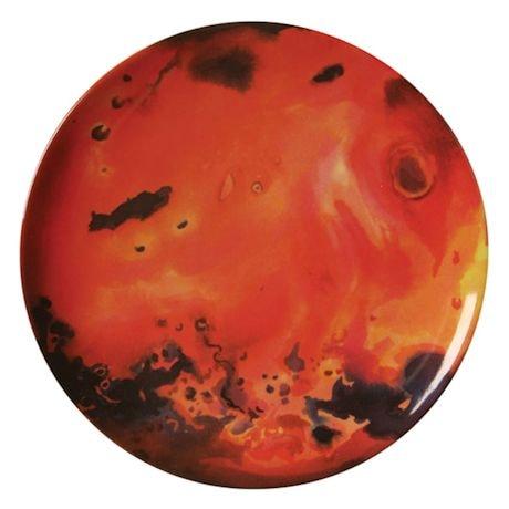 Planetary Plates - Planet Plate Set of 8 Melamine Plates