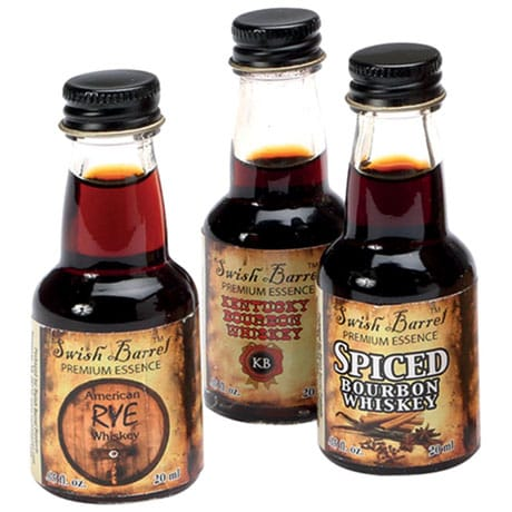 Personalized Bootleg Kit Refills for 1, 2, or 5 Liter Seasoned Oak Barrel Cask