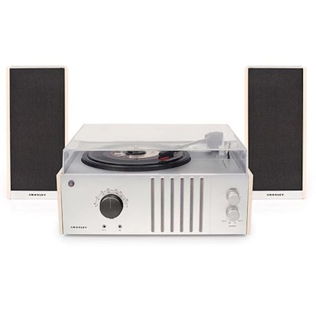 Crosley Shelf Record Player With Detachable Speakers