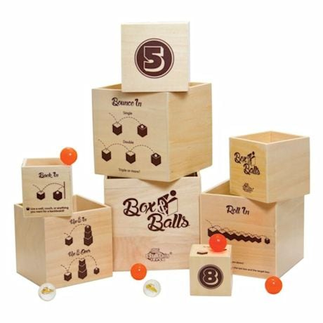Box & Bouncing Balls Dexterity Game