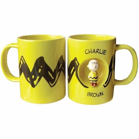 Charlie Brown Spinner Ceramic Coffee Mug