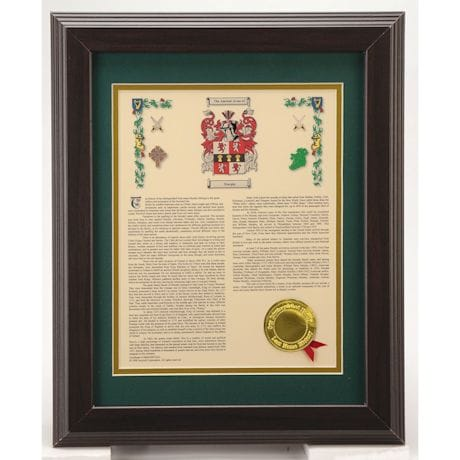 Personalized Coat Of Arms Framed Print