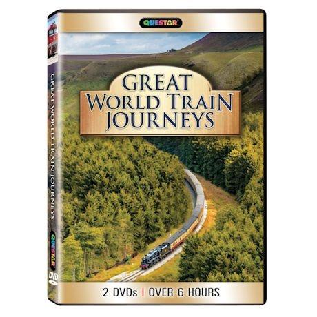 Great World Train Journeys Dvd