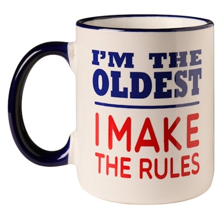 I'm The Oldest Child Mug