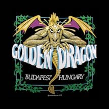 GOLDEN DRAGON BUDAPEST, HUNGARY SHIRT