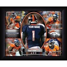 Personalized NFL Action Collage
