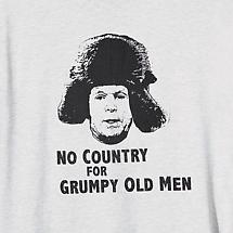 NO COUNTRY FOR GRUMPY OLD MEN MCCAIN T-SHIRT