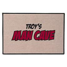 Personalized Man Cave Doormat