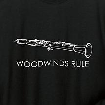 LONG SLEEVE MUSIC TEE - CLARINET