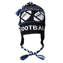 KNITTED SPORT HAT - FOOTBALL