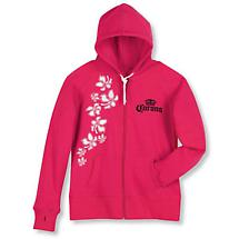 CORONA WEAR - LADIES' HOODED SWEATSHIRT