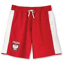INTERNATIONAL MEN'S TRUNKS - POLAND / RED