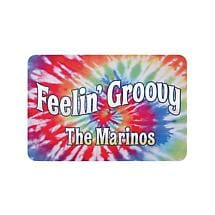 Personalized Feelin' Groovy Doormat