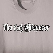 THE CAT WHISPERER SHIRT