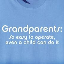 GRANDPARENTS EASY TO OPERATE SHIRT