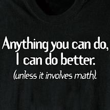 ANYTHING YOU CAN DO SHIRT