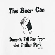 BEER CAN TRAILER PARK T-SHIRT
