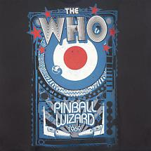 THE WHO PINBALL WIZARD 1969 T-SHIRT