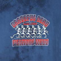 GRATEFUL DEAD FILLMORE WEST T-SHIRT