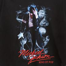 MICHAEL JACKSON KING OF POP SMOKE T-SHIRT