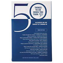 THINGS TO DO WHEN YOU TURN 50 BOOK