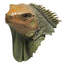 HEAD TURNING 3D WALL PLAQUE - LIZARD