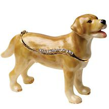 CRYSTAL DETAILED CANINE BOX - LAB