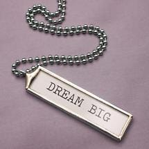 SKINNY NECKLACE - DREAM BIG