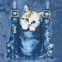 KITTY OVERALL T-SHIRT