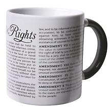 BRAINY CERAMIC MUG - DISAPPEARING CIVIL LIBERTIES