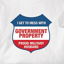 PROUD MILITARY HUSBAND SHIRT