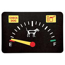 CHECK DOG PET PLACEMAT