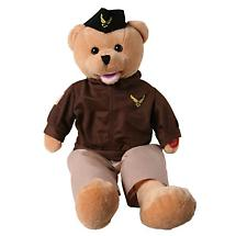 AMERICAN HEROES MILITARY BEAR - AIR FORCE