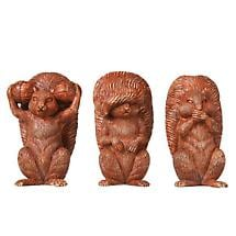 MORALITY SQUIRRELS (SET OF 3)