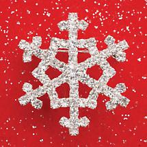 SNOWFLAKE JEWELRY - BROOCH