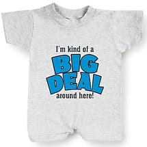 I'M KIND OF A BIG DEAL BABY ROMPER