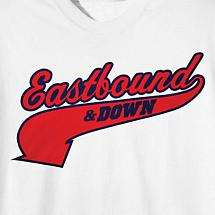 EASTBOUND & DOWN KENNY POWERS JERSEY TEE