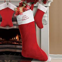 OVERSIZED CHRISTMAS STOCKING