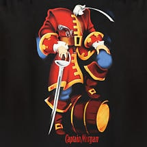 CAPTAIN MORGAN COSTUME T-SHIRT
