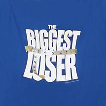 BIGGEST LOSER BLUE T-SHIRT