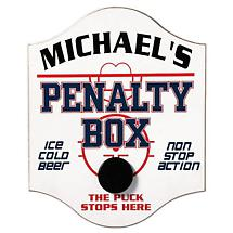 PERSONALIZED PENALTY BOX SIGN