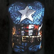 CAPTAIN AMERICA COSTUME T-SHIRT